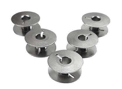 Runnertools 5 Metall Spulen (Unterfaden) für Riccar und Veritas Nähmaschine
