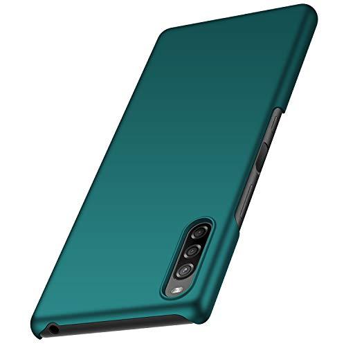 anccer Sony Xperia L4 Hülle, [Serie Matte] Elastische Schockabsorption & Ultra Thin Design für Sony Xperia L4 (Grün)
