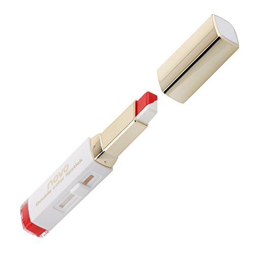 Dual-Farben Lippenstift Feuchtigkeitsspendende Farbverlauf Mode Make-up Lip Balm Langanhaltende Lip...