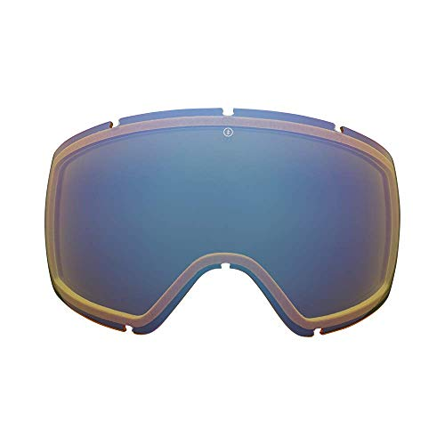 Electric California - Egg Lens - Skibril & snowboard - heren - geel/blauw chroom