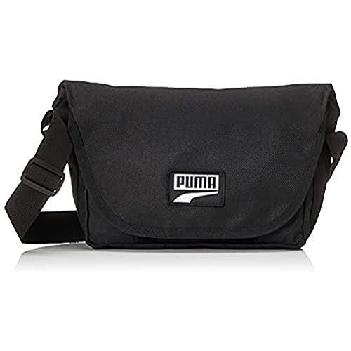 Puma PUMA Deck Mini Messenger Sac à Dos Enfant Puma Black FR : Taille Unique (Taille Fabricant : OSFA)