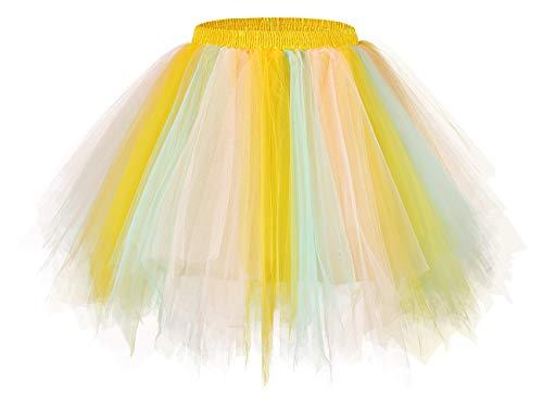 Bridesmay tutu dames rok tule rok 50s korte ballet dans jurk onderkleding cosplay crinoline petticoat voor rockabilly jurk