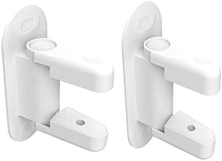 Baby Locks Door Lever Lock Baby and Child Proof Door Handle Self-Adhesive Door Lock Bwdroom Safety Locks (Color : 1PCS)