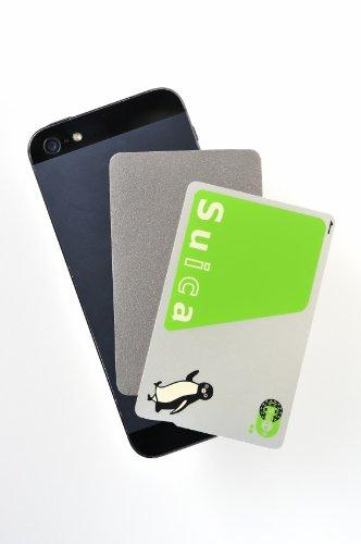 駅の改札やコンビニでピッ アベニューディー 非接触型ICカード読み取りエラー防止シート for iPhone SE/6s/...