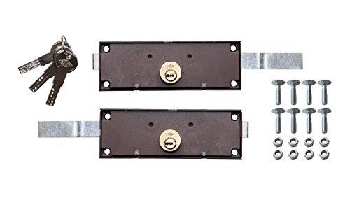 CAYS 11RCL - Cerradura lateral b-62 llave punto puerta enrollable juego