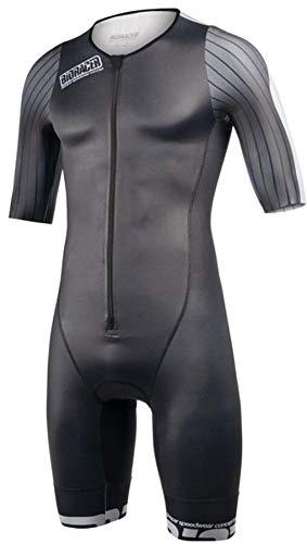 Bioracer Speedwear Concept Combinaison de Triathlon Homme, Black