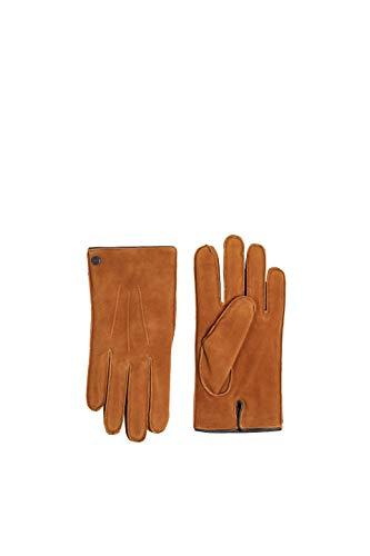 ESPRIT Accessoires Herren 119EA2R001 Handschuhe, Braun (Caramel 235), 9.5 (Herstellergröße: 9 ½)