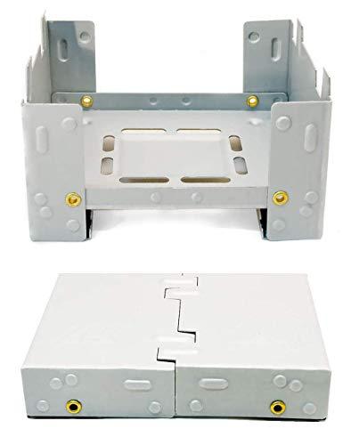 Hornillo compacto de Outdoor SAXX® para combustible fósil seco, plegable, para calentar...
