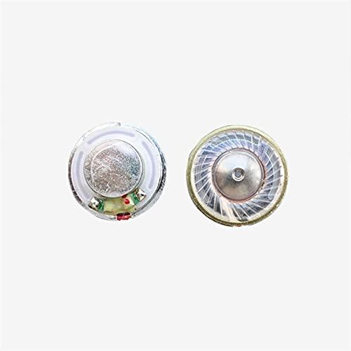Wnuanjun 2 stück Mini Kopfhörer Lautsprecher Fahrer für Bluetooth Kopfhörer Telefon 7 8 Headset DIY 14.25mm Dome Titan Film N42 Neodym