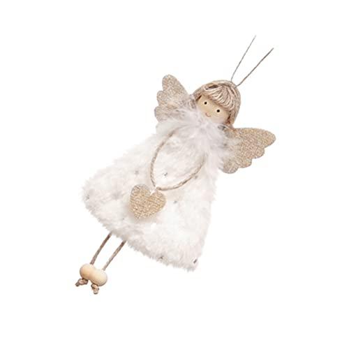 WINOMO Xmas Holiday Tree Ornaments Christmas Hanging Angel Dolls Christmas Party Favors Gifts