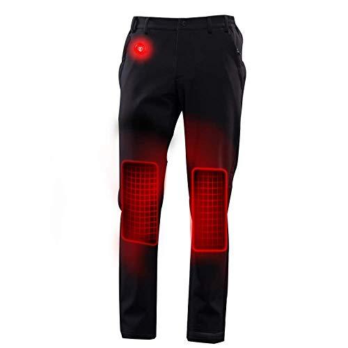 ayoilp Calentada eléctricamente Calentar los Pantalones Calientes par de Carga Ocasional Corriendo...
