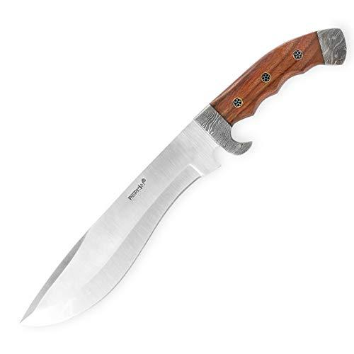 Perkin Jagdmesser mit Lederscheide - Handmade Jagdmesser