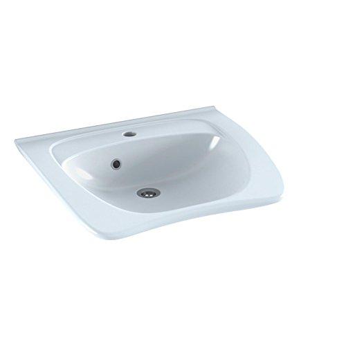 Pressalit R2052 MATRIX ergonomisches Waschbecken Waschtisch barrierefrei behindertengerecht Senioren (60 x 49 x19 cm) mit Überlauf