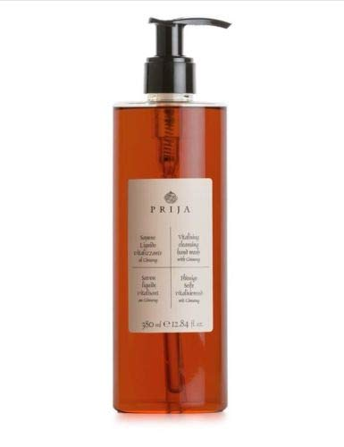 Prija Flüssigseife mit Ginseng 380 ml inkl. Pumpspender Seife Soap