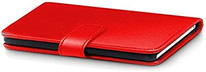 RED Galaxy S21 Ultra Cover Compatible With Galaxy S21 Ultra Screen Protector Flip Pu Leather Cover With Card Slots iPro Accessories Galaxy S21 Ultra Case