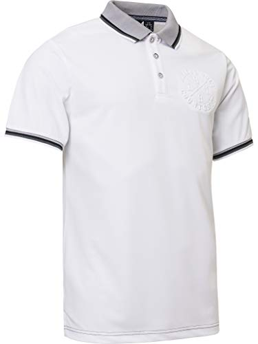ABACUS Rocky Polo Shirt Herren weiß M