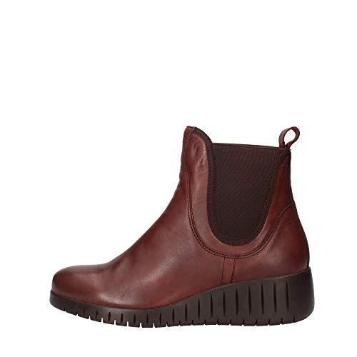 Marco Tozzi 2-2-25442-25 Leder Chelsea Boot, Stivali Donna, Cafe Ant. Comb, 39 EU