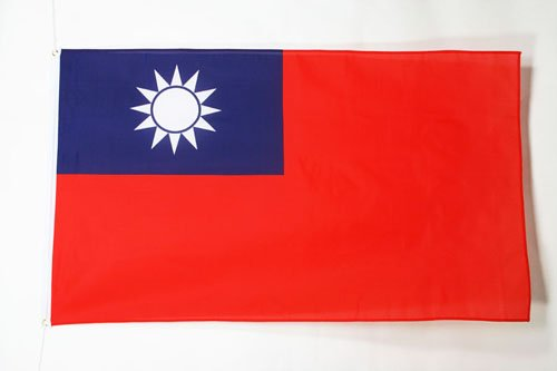 AZ FLAG Flagge Taiwan 150x90cm - Republik China Fahne 90 x 150 cm - flaggen Top Qualität