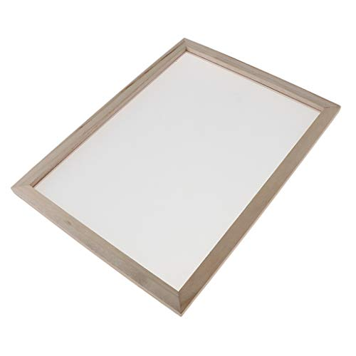 dailymall Papier Schöpfrahmen, Papierherstellung Rahmen, Papierschöpfsieb, Papierschöpfrahmen für Kinder - 30X40C, 30x40cm