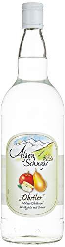 Alpenschnaps |Steinbeisser | 1 x 1l | Obstler | pures Alpenglück im Glas
