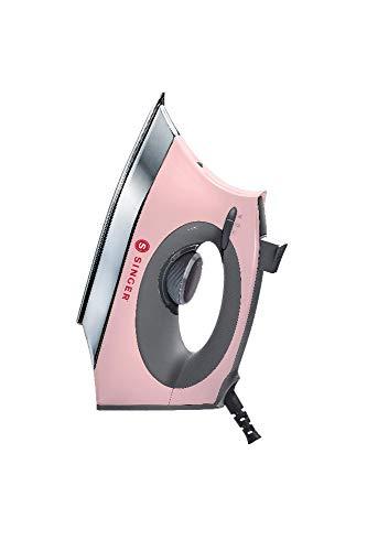 Singer SteamCraft Dampfbügeleisen Pink Anti-Kalk Filter Vertikaler Dampfmodus