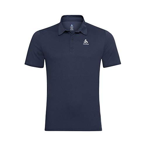Odlo Herren Poloshirt Polo s/s CARDADA, Diving Navy, L, 222202