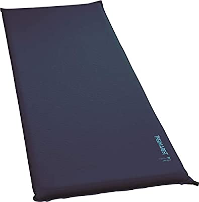 Therm-a-Rest BaseCamp Self-Inflating Foam Camping Pad, Standard Valve, Large - 25 x 77 Inches