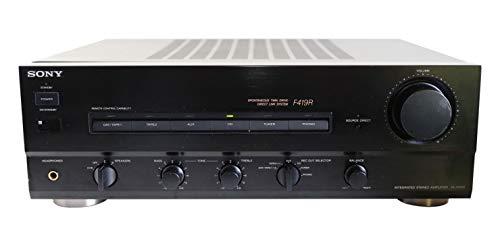 Sony TA-F 419 R Stereo Verstärker in Schwarz