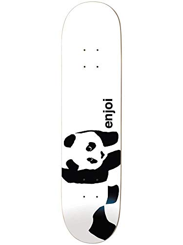 Enjoi Skateboard Deck Whitey Panda R7 8.25