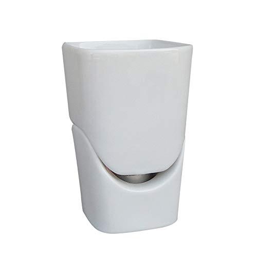 SCSBJ Premier Huishoudelijke Keramische Fondue Set Fondu Kaas Chocolade Puur Wit Keramische Fire Boiler Hot Pot Cup Keramische Bowl Smelten Pot Thee Licht Verwarmd 2 Vorken