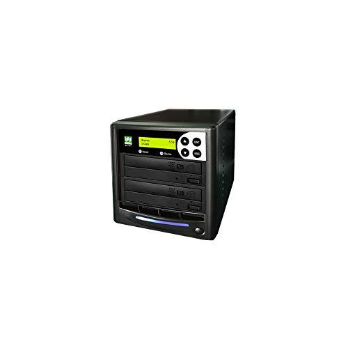 Wytron 1 to 1 24X Burner M-Disc Support CD DVD Duplicator - Standalone Copier Duplication Tower