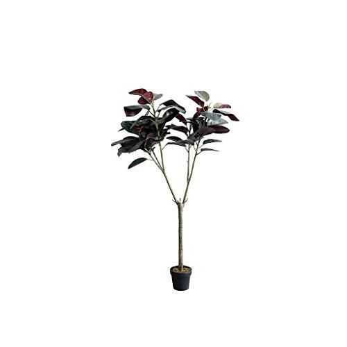Jixi Árbol de la Planta en Maceta Artificial Salón Dormitorio Decoración Falso árbol Planta decoración del árbol de Simulación (tamaño : 160CM)
