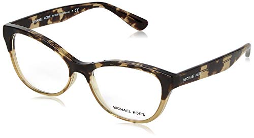 Michael Kors Salamanca Monturas de gafas, Olive Tortoise/Milky Olive, 52 para Mujer