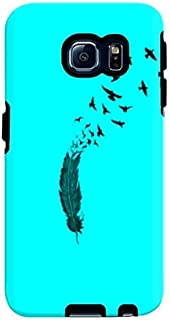 Stylizedd Samsung Galaxy S6 Edge Premium Dual Layer Tough Case Cover Gloss Finish - Birds of a feather