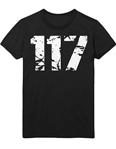 Hypeshirt T-Shirt JOHN-117 Z100068 Schwarz M