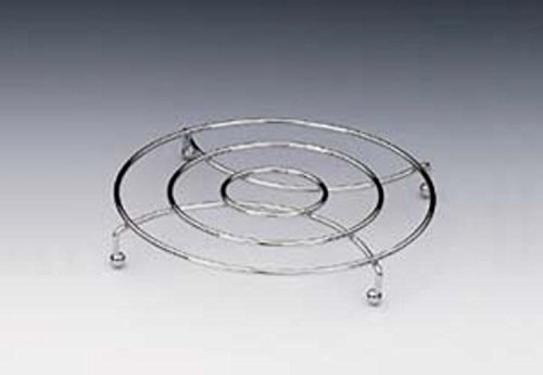 Kela 17602 Coaster Globul Cuisson Electrique Métal/Chrome Diamètre 20 cm Hauteur 3 cm