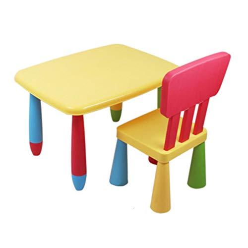 Chaise de table d'enfant Enfants Table Et Chaise Childs Enfants Étudier La Peinture 2 En 1 Activité Set De Table For Lego Lecture Salle À Visionnage Dans Chambre Salle De Jeux Jardin D'enfants Intérie