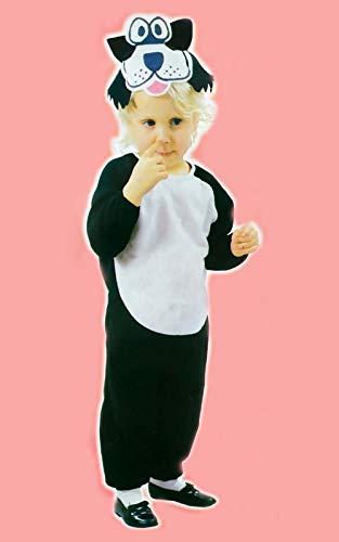 LEMON TREE SL kostuum carnaval kat zwart