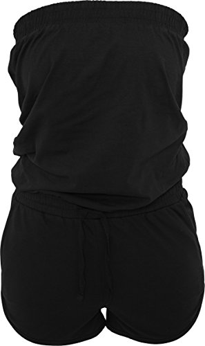 Urban Classics Damen Hot Jumpsuit, Schwarz (Black 00007), XXX-Large