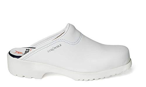 Strövels Flex 923 - Zoccoli da pesca, colore: Bianco