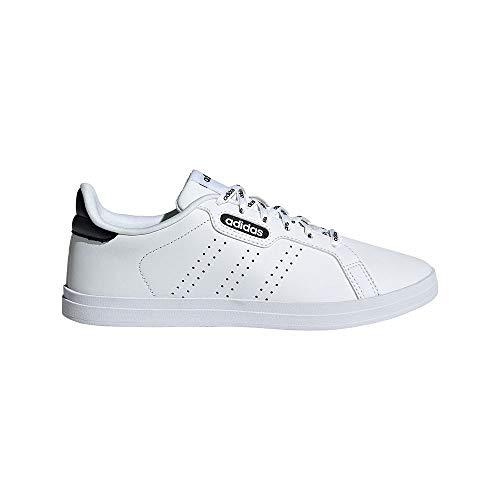 adidas COURTPOINT Base, Zapatillas de Tenis Mujer, FTWBLA/FTWBLA/NEGBÁS, 42 EU