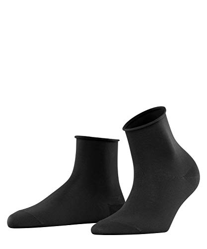 FALKE Damen Cotton Touch Socken, Schwarz (Black 3009), 35-38