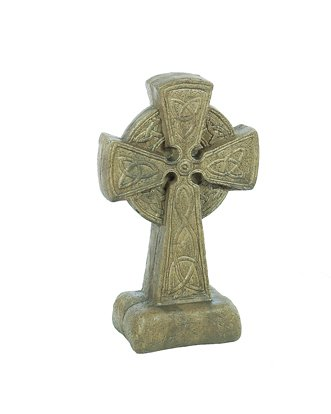 Solid Rock Stoneworks Md Celtic Cross- 18in Tall- Aged Pine