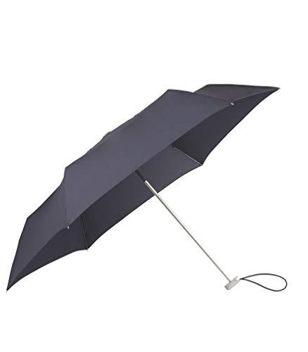SAMSONITE Alu Drop S - 3 Section Manual Mini Flat Regenschirm, 23 cm, Indigo Blue