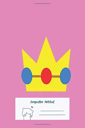 Composition Notebook: Super Mario Peach Icon Composition Notebook,Notebook Journal Diary Gift Funny