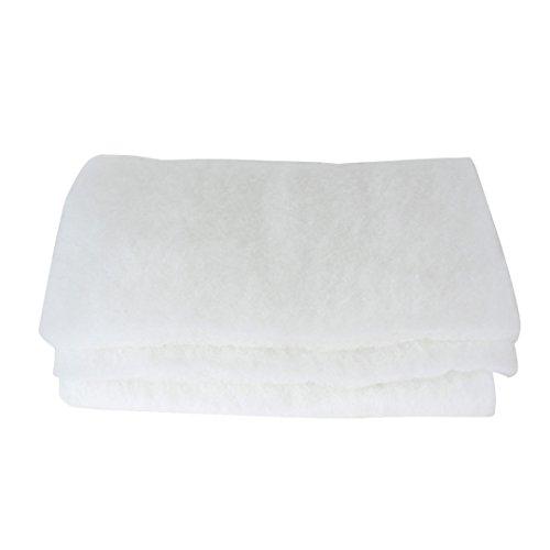 Weiß Filtermaster Filterschaum Baumwolle Pad Mat Filtermedien für Aquarium 110cmx39cm
