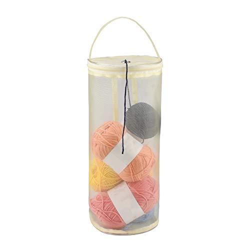 crochet sewing basket - 5