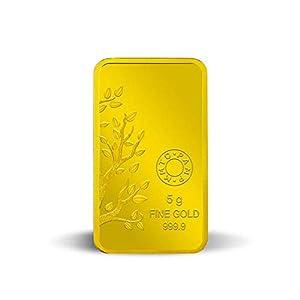 MMTC-PAMP Banyan Tree 24K (999.9) 5 gm Purest Gold Bar