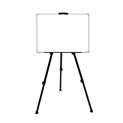 Glattes Schreiben Whiteboard Einseitig Whiteboard Standing Whiteboard Magnetic Dry Erase Board Höhenverstellbar for Schule-Büro Für Büro oder zu Hause Klassenzimmer ( Color : White , Size : 60x90cm )