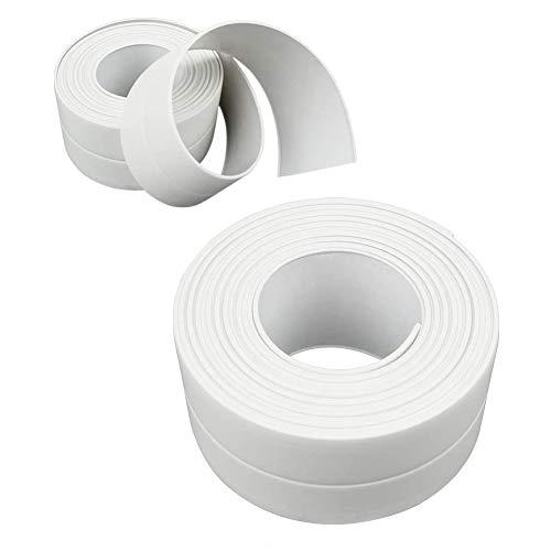 Wasserdichtes Dichtungsband, wasserdichtes und schimmelresistentes Dichtungsband für die Küche zu Hause, geeignet für Küche, Bad, Badewanne, Dusche, Boden, Wand, Kantenschutz…